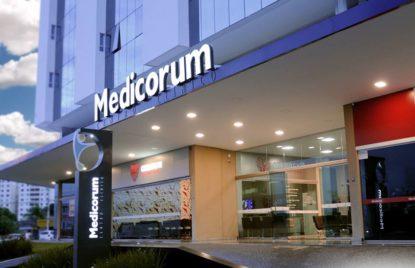 Sala comercial no Centro Clinico Medicorum