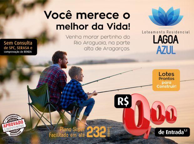 LOTEAMENTO RESIDENCIAL LAGOA AZUL- ARAGARÇAS